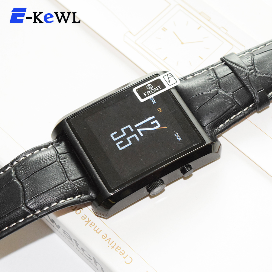 Hottest DM08 Bluetooth Smart Watch Men Leather IPS Smartwatch Wristwatch for ios Android Phone PK M26 U8 DZ09 GV08 GV18 Watch<br><br>Aliexpress