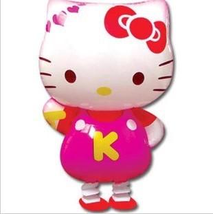 Free Shipping Hello Kitty Walking PET Mylar Balloons Baby Shower Happy Birthday Party Accessory 10pcs/lot