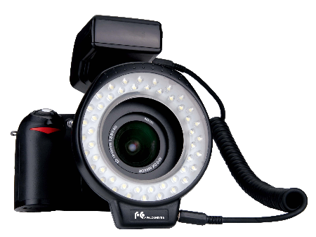 Falcon Eyes MRC-60FV Camera Marco Ring Flash Lamp 60LEDs Photo Lighing for Wedding Interview Camcorder DSLR<br><br>Aliexpress