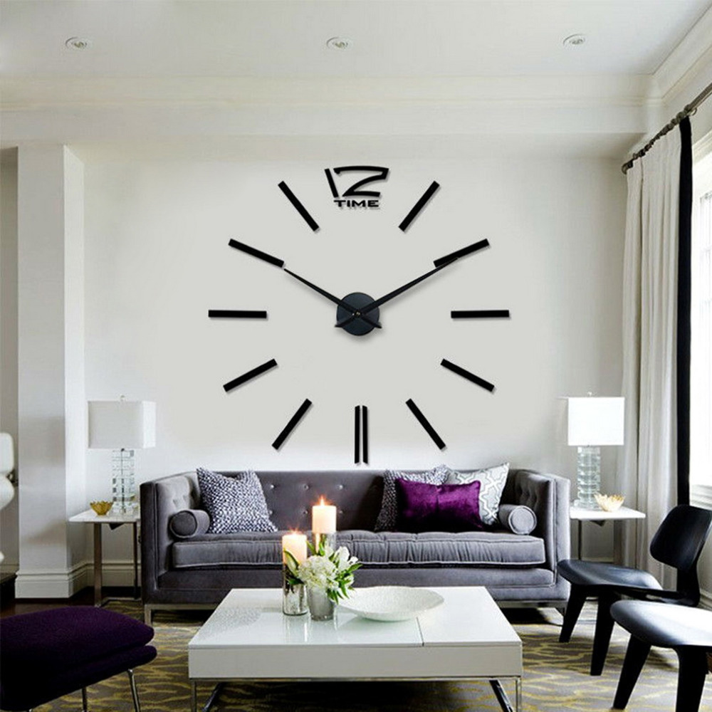 Cheap Big Wall Clock, Buy Quality Designer Wall Clock Directly From China Wall  Clock Suppliers: Decorating Your Home   Do It By Yourself