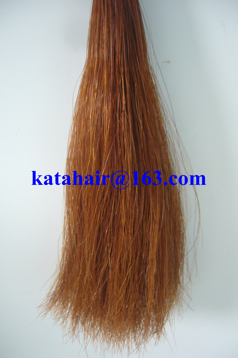 Horse Hair Tail Extensions Remy Indian Hair