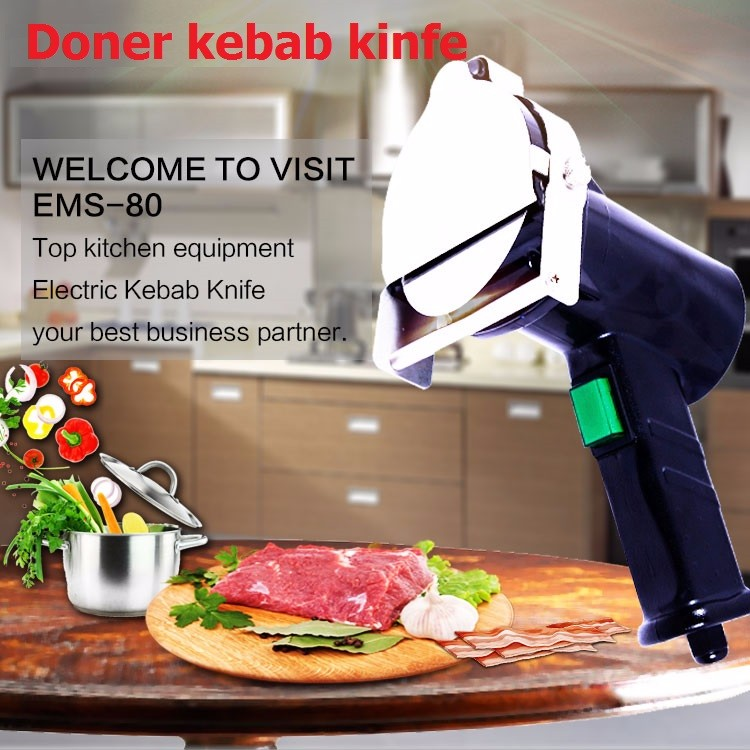 Buy 2016 New Electrical Doner Kebab Cutter Machine Cooked Meat Cutting Shawarma Slice For Home And Restaurant Equipment cheap