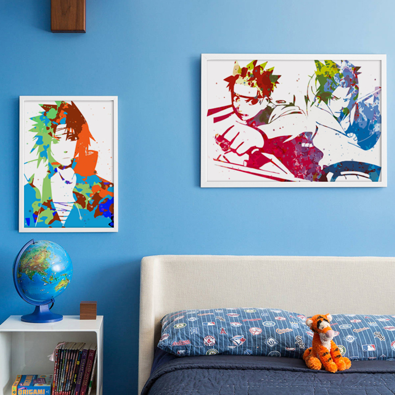 Uzumaki naruto pictures reviews online shopping uzumaki for Mural naruto