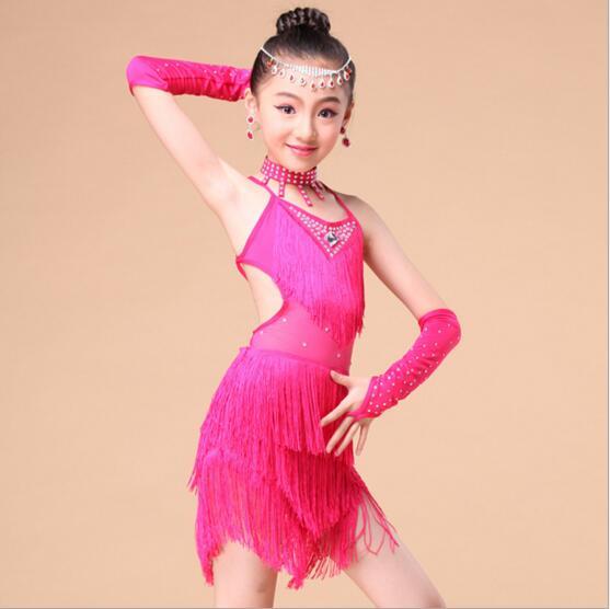 DB24026 latin dance dress-2