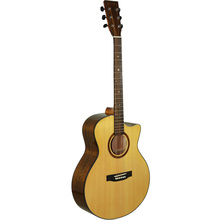 Buy High solid wood guitar 41 inch spruce wood panel acoustic guitar guitarra free for $297.60 in AliExpress store