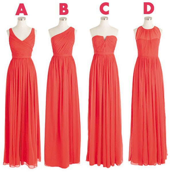 Pin Coral Colored Bridesmaid Dresses Image Search Results ...