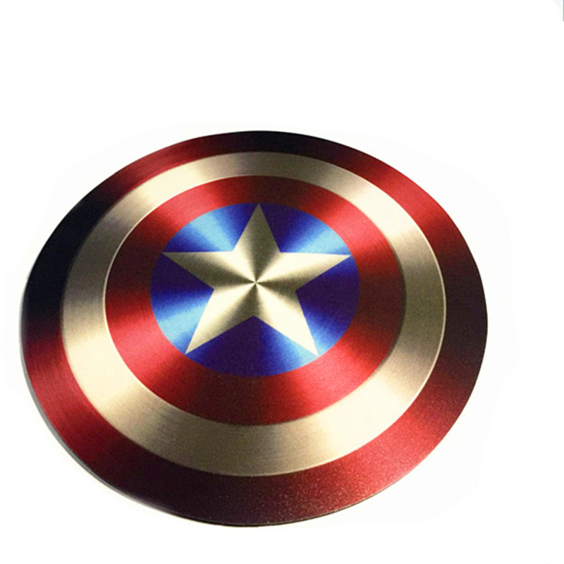 50pcs/lot 2106 new 3d EVA Captain America Shield mouse pads use for pc computer mice mat(China (Mainland))