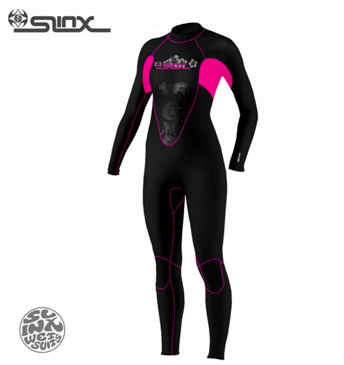 New Slinx CORAL 1102 Womens Scuba Diving Surfing Snorkeling Fishing boating 3mm Neoprene swimwear Wetsuit<br><br>Aliexpress