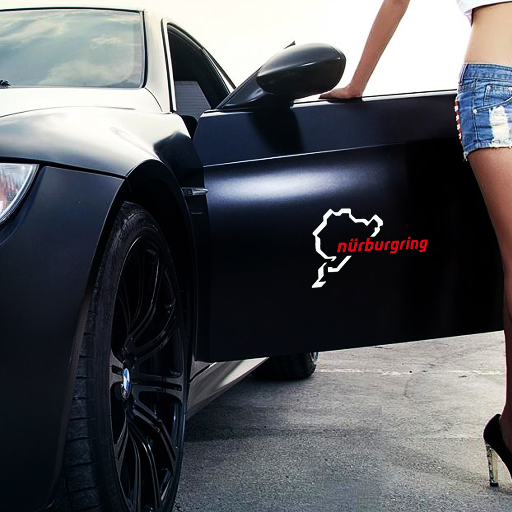 Car body sticker design for sale -  Quot Hot Sale Green Nurburgring Body Stickers Drop Shipping Car Sticker China Mainland
