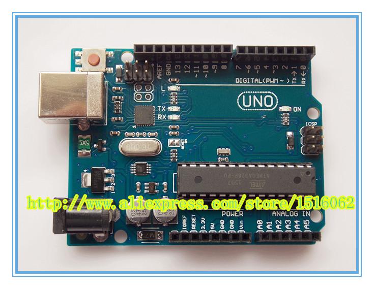 Free shipping!UNO R3 MEGA328P ATMEGA16U2 for Arduino Compatible with usb cable(NO LOGO)(China (Mainland))