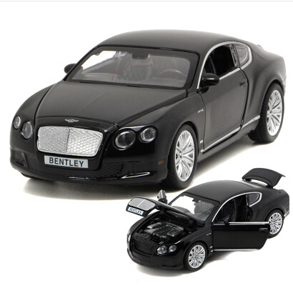 Bentley Continental GT 1:32 car model alloy original kids toy pull back sound light Luxury supercar gift boy free shipping<br><br>Aliexpress