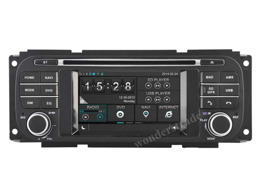 "4.3"" CAR DVD PLAYER radio stero GPS navigation for Dodge Neon RAM 1500 Caravan 2500 Stratus Intrepid Dakota Viper / OBD DVR(China (Mainland))"