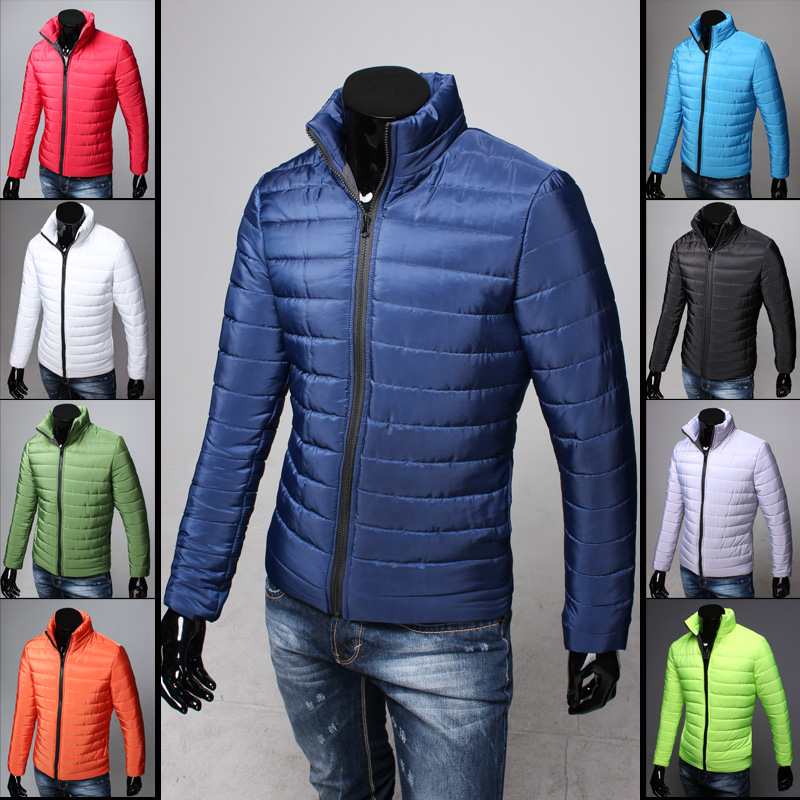 Winter Jacket Men 2015 New Arrival Slim Mens Long Sleeve Parka Famous Brand Mens Jacket Plus ...