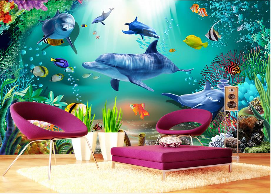 Compare prices on underwater murals online shopping buy for Custom mural cost