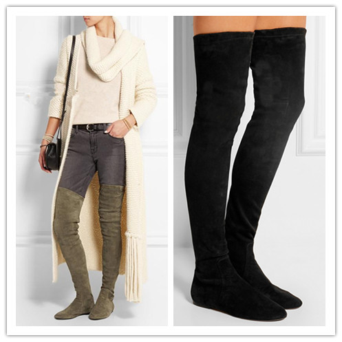 Plus Size Thigh High Winter Boots | Santa Barbara Institute for ...