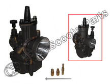 Black PWK  28 30 32 34 28MM 30MM 32MM 34MM Carburetor for Koso OKO Keihin With Power Jet Racing(China (Mainland))