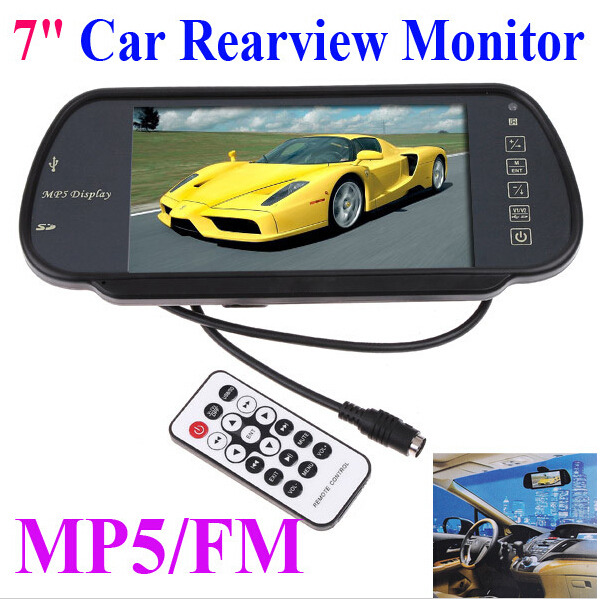 """7"""" inch Cheap Car Touch Screen Type Car Reverse Monitor(China (Mainland))"""
