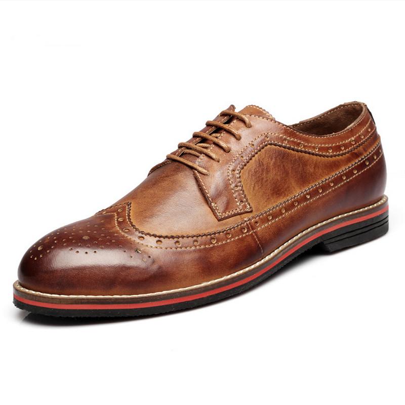 Здесь можно купить  38-45 Plus Size Men Brogues Shoes Men