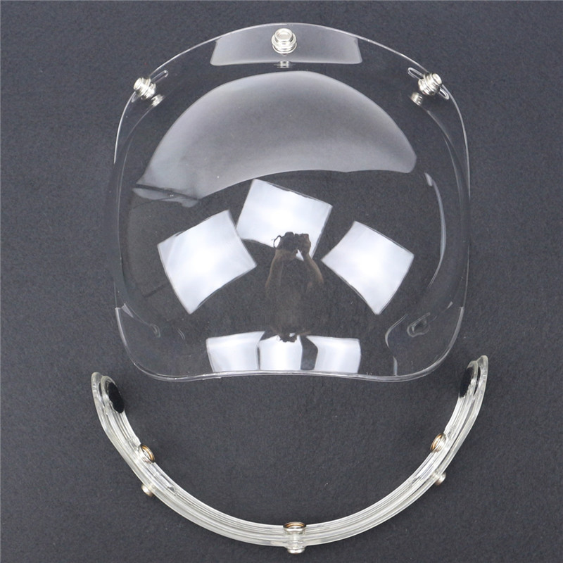 classic top quality open face helmet windshield bubble style visor<br><br>Aliexpress