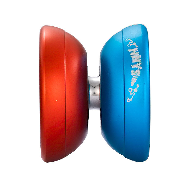 Hot Selling ShenZhou YOYO Qixia KK Bearing Aluminum YoYo Nuclear Elements Great YoYo Toys for Your Little Kid(China (Mainland))