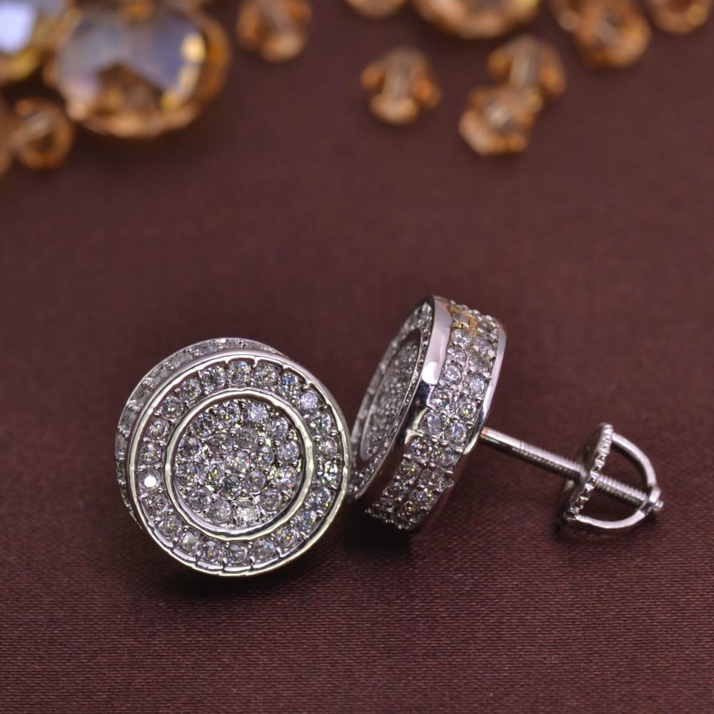 Screw back earring for men jewelry earrings brass lse846 for Men s jewelry earrings