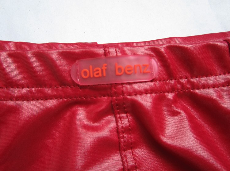 marcas sexy men underwear OLAF BENZ Nylon Sexy Faux leather male panties Men s sexy underwear