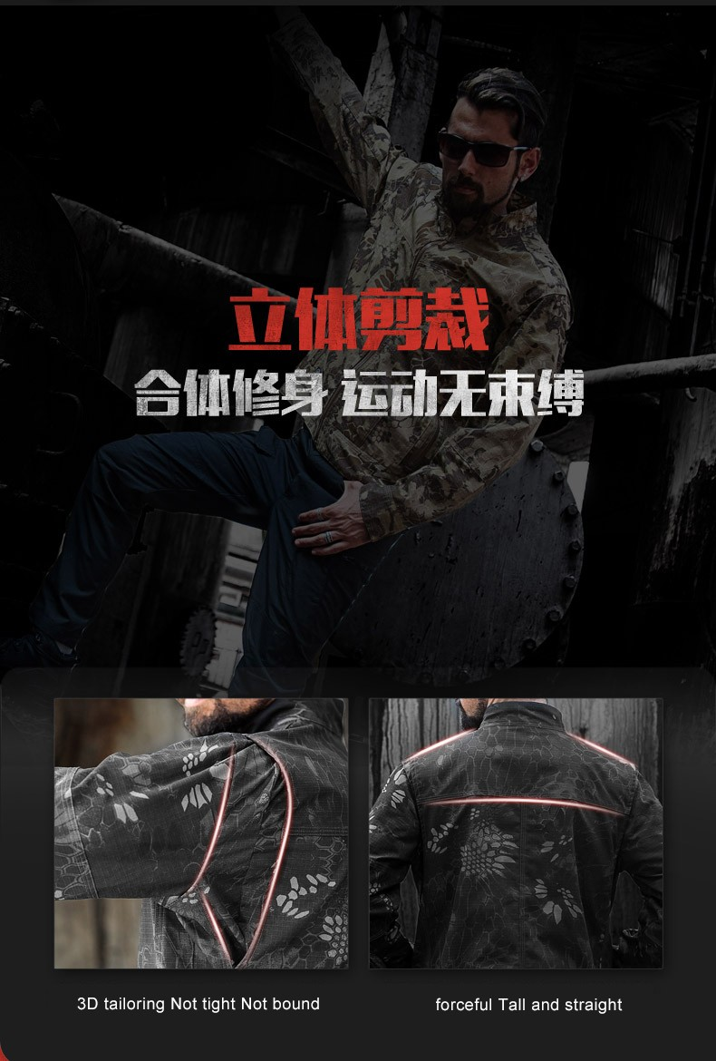 Spring Outdoor Windproof Coat 11