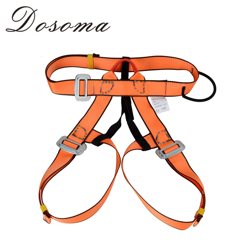 Outdoor Rock Climbing Safety Belt High strength Polyester Harness Mountaineering Caving Rescue Safety Climbing equipment