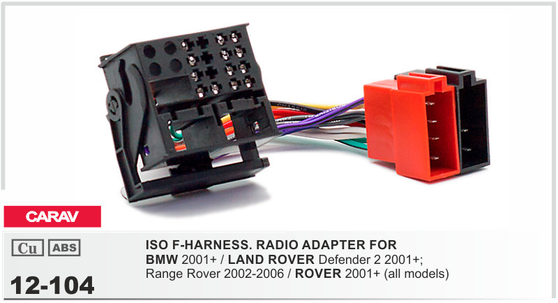 Remarkable Carav 104 Iso F Harness Radio Adapter For Bmw Land Rover Defender 2 Wiring Digital Resources Sapebecompassionincorg
