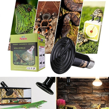1 PC The crawler supplies heat lamp tortoises lizards spiders snakes ceramic insulation 50 w lamp pet heat lamps(China (Mainland))
