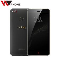 טלפון נייד מקורי nubia z11 mini s zte lte 4g msm8953 אוקטה Core 5.2 Inch 4 GB RAM 64 GB ROM 23.0MP זיהוי טביעת אצבע(China (Mainland))