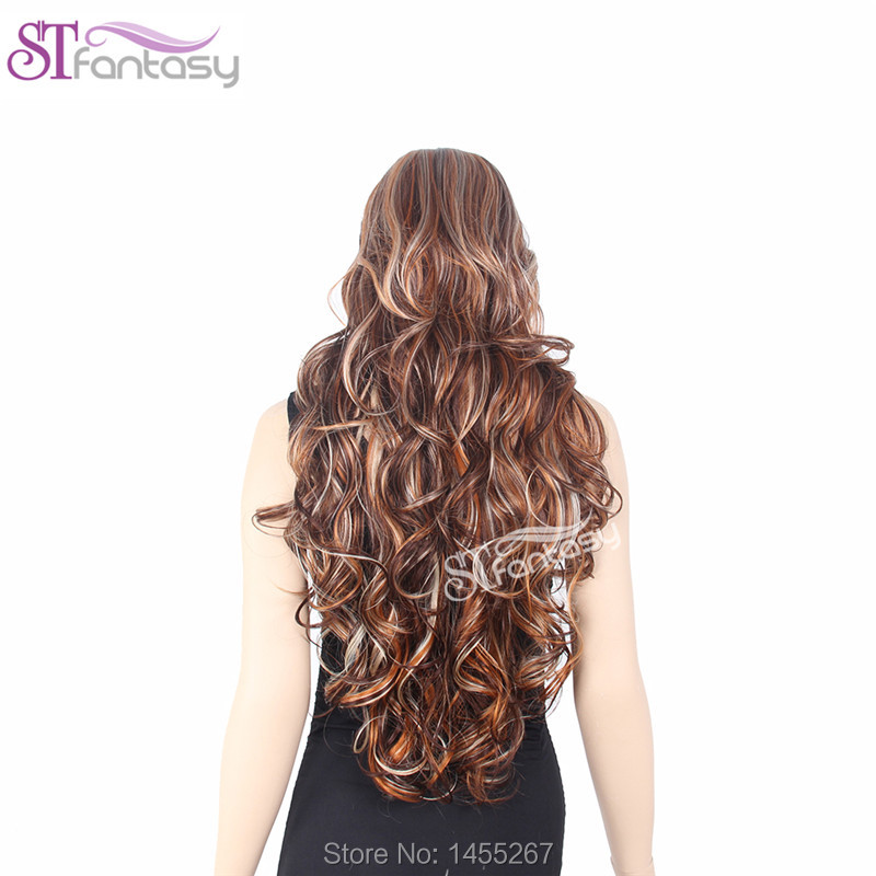 2016  New Free Shipping  High Quality  Long Hair High Light Hair Long Wavy Hair