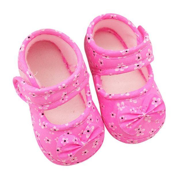 Новый детская обувь мягкой подошве бантом детская кровать в обуви Foral обувь 11 ...