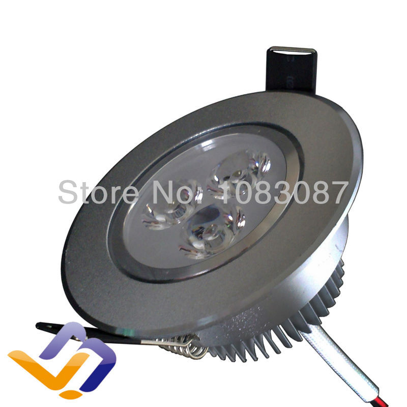 Free shipping! 6pcs/lot 4W high power Led Down lamp 2700-7000K Indoor Energy Saving home Led lighting ceiling lights<br><br>Aliexpress