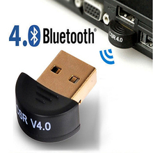 Mini Bluetooth 4.0 USB 2.0 CSR4.0 Dongle Adapter For Win 8 7 XP Laptop PC 7BNK