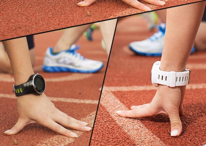ถูก นาฬิกาผู้ชายสมาร์ทนาฬิกาLed Digtialกีฬาสมาร์ท-นาฬิกาบลูทูธจีพีเอสกันน้ำกีฬานาฬิกาRelógio Masculino Esportivo