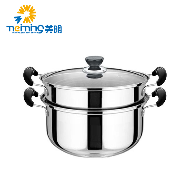 Cooking Pot Steamer ~ Free shipping steamer stainless steel soup pot