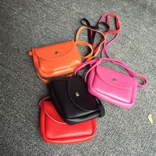 Коровьей Geuine кожи новорожденных девочек кошельки милые сумки мини-размер три цвета малышей Messanger сумки воздуха-мешок де BeBe