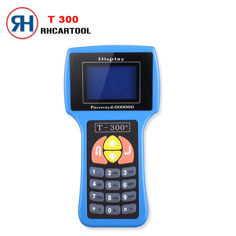2016 T300 Key Programmer V2015.8 Auto Transponder Key Code T 300 High Quality Professional T 300 New Version Key Prog DHL Free(China (Mainland))