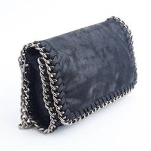 Fashion Women Handbags High Quality Brand PVC Crossbody Stella Bag Envelope Clutch Message Chain Bags(China (Mainland))