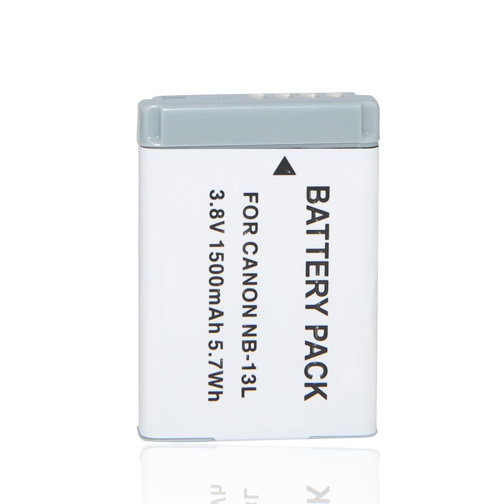 1Pcs NB-13L NB 13L NB13L 1500mAh rechargeable Battery for Canon PowerShot G5 X G5X G7 X Mark II G7X G9 X G9X SX720 HS(China (Mainland))