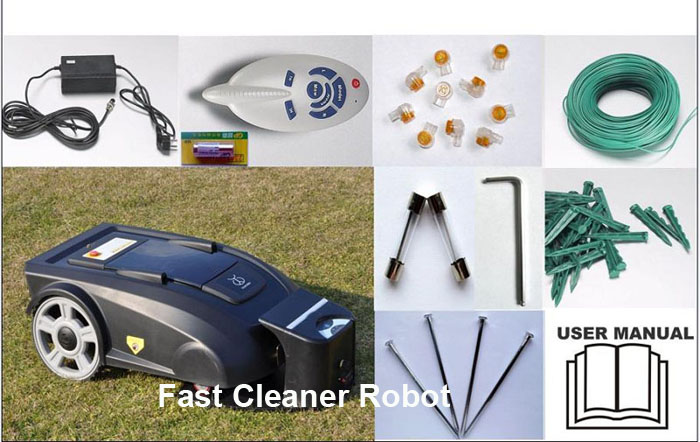 Robotic Grass Trimmer L2700+Newest Function Electronic Compass which will help the mower goes well in the slope(China (Mainland))