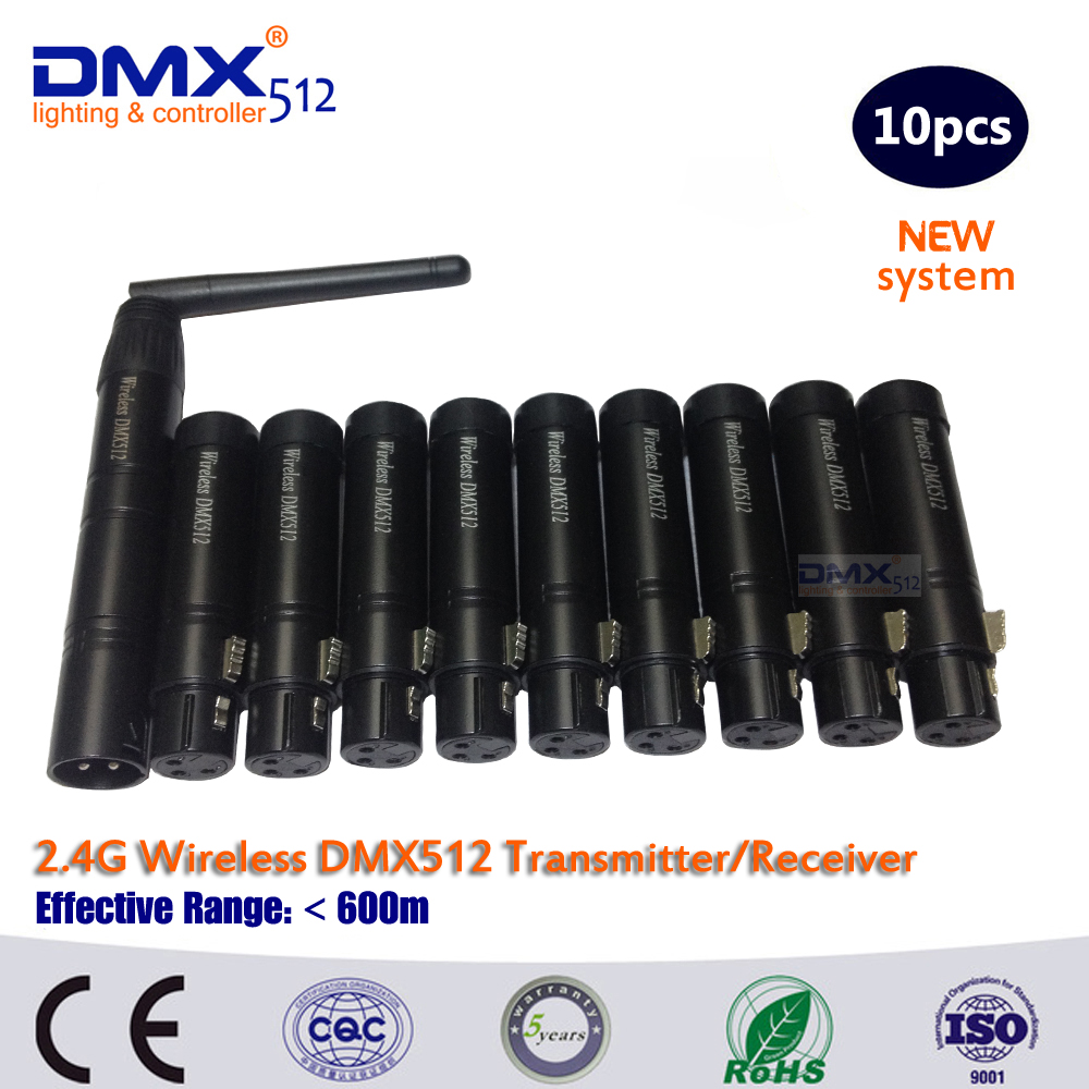 DHL Free Shipping 2.4Ghz wireless DMX 512 controller dmx512 transmitter(China (Mainland))