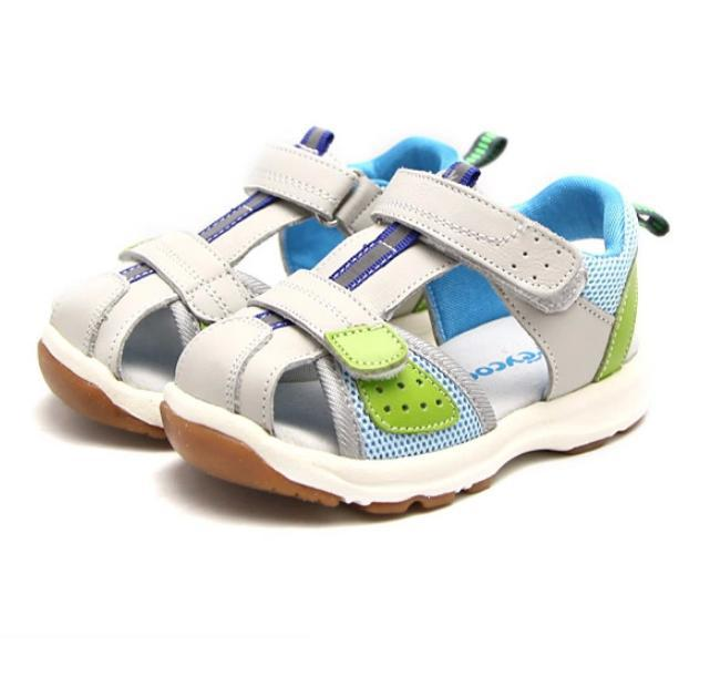 Free Shipping 2015 Freycoo Spring Summer casual soft baby boy girl first walkers toddle function genuine leather sandals shoes(China (Mainland))