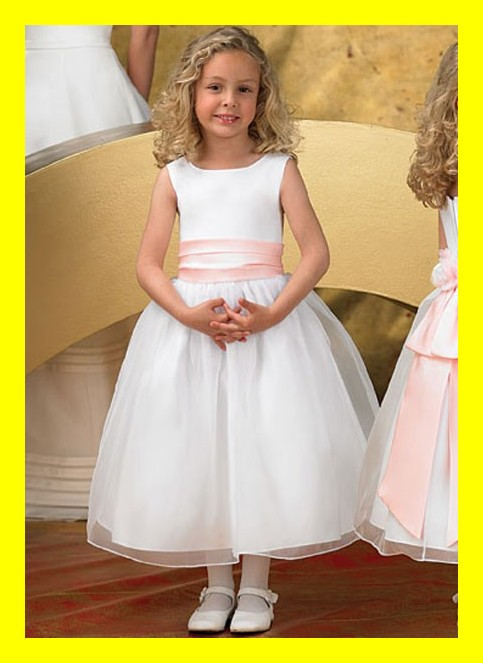 Childrens Flower Girl Dresses Turquoise Dress Light Blue Formal Girls Nyc Scoop Tank Sleeveless Bow A-Line Mid-Ca 2015 Wholesale(China (Mainland))