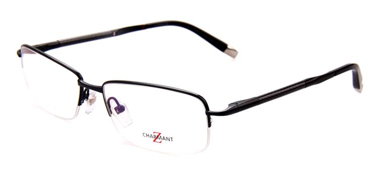 Glasses Frames Progressive Lens : Brand-Designer-Half-Rim-Men-Eyeglass-Frames-Pure-Titanium ...