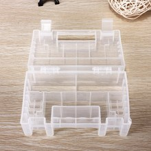 Hot Sale Best Promotion Translucent Hard Plastic Case Holder Storage Box for AA AAA C Battery New Wholesale Price(China (Mainland))