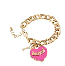 Free Shipping - wholesale bracelet And the wind Heart Bracelet fh(China (Mainland))