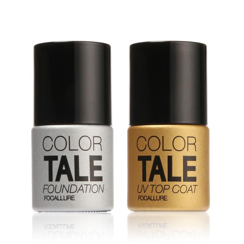 Best Quality Top Base Coat Promotion UV Gel Polish Manicure Nail Gel Led Polish For French Style(China (Mainland))