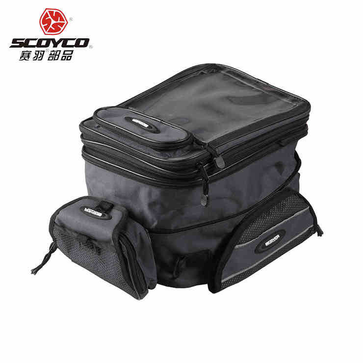 NEW Scoyco fuel tank bag motorcycle fuel tank bag magnetic bag double-shoulder fuel tank bag MB09